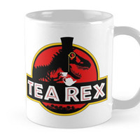 Jurassic Park / World TEA Rex Ceramic Coffee Mug