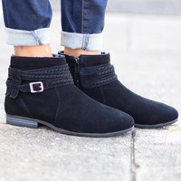 Minnetonka: Dixon Boot {Black} --Call to Order--