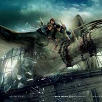 Harry Potter and the Deathly Hallows: Part II (UK) 14x36 Movie Poster (2011)