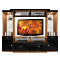 Emma Entertainment Center - Most Popular Open Back Entertainment Unit