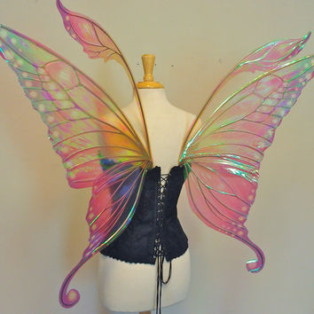 Large Swallowtail fairy wings in your choice of colors