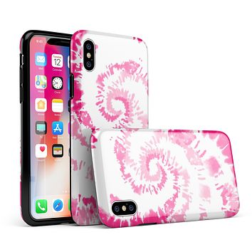Spiral Tie Dye V6 - iPhone X Swappable Hybrid Case