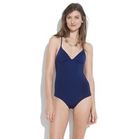Tanksuit in Solid - one-piece swimsuits - Women's SWIM - Madewell