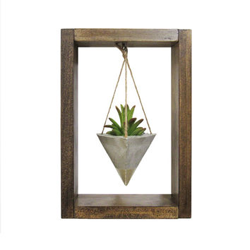 Air Planter, Wall Planter, Succulent Planter, Mini Planter, Concrete Planter, Unique Planter, Modern Planter, Air Plant Holder, Shadow Box