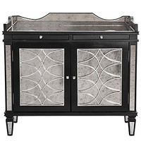 Z Gallerie - Salvatore Antiqued Mirrored Bar Cabinet