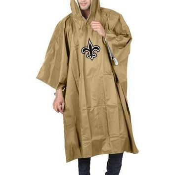 New Orleans Saints NFL Poncho