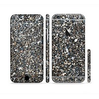 The Small Dark Pebbles Sectioned Skin Series for the Apple iPhone 6s Plus