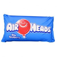 King Size Squishy Airheads Blue, King Size Squishy Airheads Blue Pillow, Microbead Airheads Blue Pillow