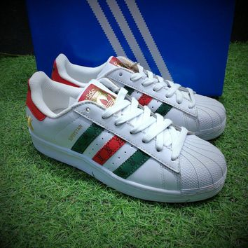 Best Online Sale Gucci X Adidas Originals Superstar 80s Sport Sh bcbd84628