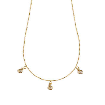 Stars and Splendor Necklace (Gold)