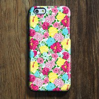 Seamless Colorful Floral iPhone 6s Case iPhone 6s Plus Case iPhone 6 Cover iPhone 5S 5 iPhone 5C iPhone 4s 4 Samsung Galaxy S6 Edge Galaxy s6 s5 s4 Galaxy Note 5ÌâåÊNote 4 Case 139
