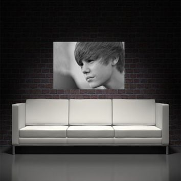 Justin Bieber Wall Art Canvas Print