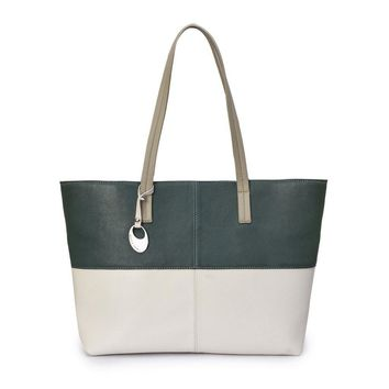 Phive Rivers Women's Leather Tote Bag -PRU1345