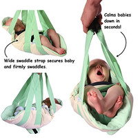 Swaddle Swing: The Portable Baby Swing, A Baby Swaddle and Baby Swing Combined (Mom's Choice Award Winner)