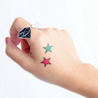 Tattoo Stickers: 5-sheet Star Power Value Pack