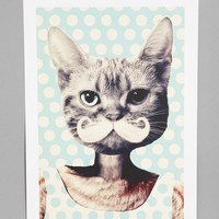 Zumzzet For Society6 Kitten Art Print