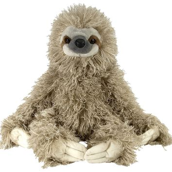 Three Toed Wild Sloth Stuffed Plush Animal