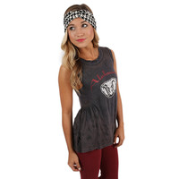 Rock on Peplum University of Alabama