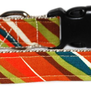 Savannah Stripe Dog Collar