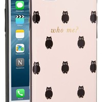 kate spade new york 'who me?' iPhone 6 case (Nordstrom Exclusive) | Nordstrom