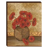 Poppies Canvas Wall Art (2074) - Illuminada