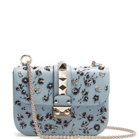 Lock small embellished leather shoulder bag | Valentino | MATCHESFASHION.COM UK