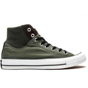 converse chuck taylor all star high ma 1 zip olive