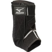 Mizuno DXS Right Ankle Brace, Black, Small