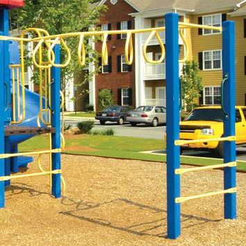 Planet Playgrounds Zig Zag Overhead Loop Climber