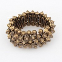 Bronze Spiked Bracelet  from embri