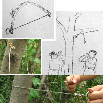 Outdoor Steel Wire Saw Ring Scroll Emergency Travel Hiking Hunting Survival Tool