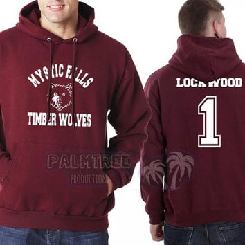 Lockwood 1 Mystic Falls The Vampire Diaries Unisex Hoodie S to 3XL