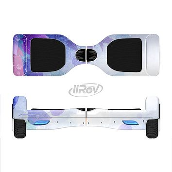 The Magical Abstract Pink & Blue Floral Full-Body Skin Set for the Smart Drifting SuperCharged iiRov HoverBoard