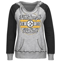 Majestic Pittsburgh Steelers O.T. TD IV Colorblock Fleece