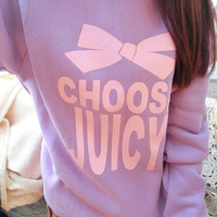 choose juicy sweater (2 colors) from WhipCreamLove