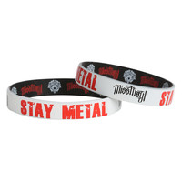 Miss May I Stay Metal Rubber Bracelet 2 Pack
