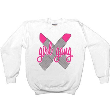 Girl Gang #2 -- Women's Sweatshirt