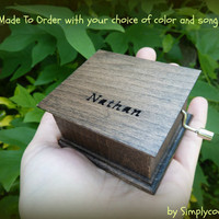 music box, personalized music box, wooden music box, custom music box, custom made music box, musical box, music box songs