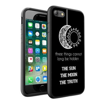 Teen Wolf Design Printed Hard Case Cover + Glass for Various Mobile Phones - 007
