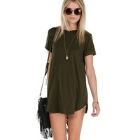 The Perfect Olive Tee
