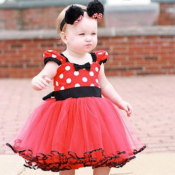 Summer Baby Girl Dress Birthday Outfit Carnival Party Fancy Costume Ballet Stage Performance Dresses Beautiful Kids Clothes