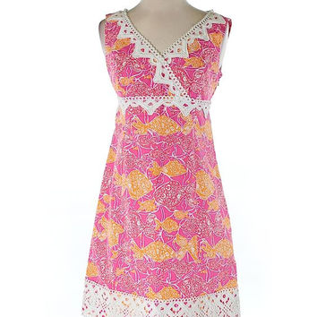 Lilly Pulitzer Pink Shift DRess Size 2