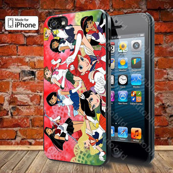 Sailor Moon Case For iPhone 5, 5S, 5C, 4, 4S and Samsung Galaxy S3, S4