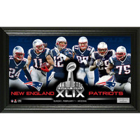 New England Patriots Super Bowl 49 Team Force Panoramic Photo