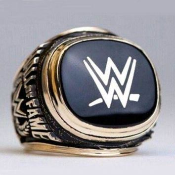 CREYRQ5 SPORTS RING * 2015 WORLD WRESTLING * CHAMPIONSHIP HALL OF FAME/...fast delivery!
