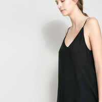 STRAPPY TOP - Shirts - Woman | ZARA Canada