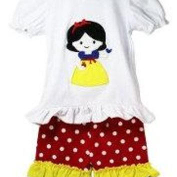 Girls Snow White Boutique Outfit