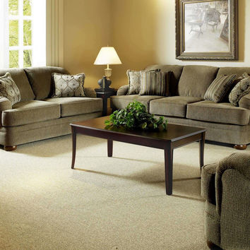 Heavenly Suede sofa and loveseat by Serta Upholstery