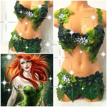 Reserved for Jennifer: Poison Ivy Outfit (first payment)