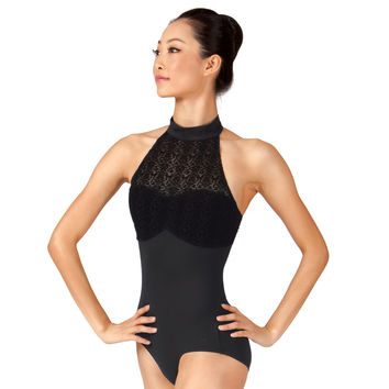 "Adult ""New York City Ballet"" Halter Leotard"